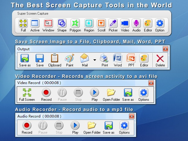 Super Screen Capture 9.05 full