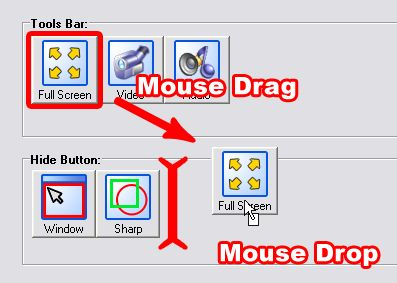 capture desktop can even automatically rename and resize the screenshot and save it to a folder of your choice.